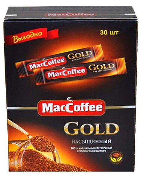 Растворимый кофе MacCoffee Gold, в пакетиках