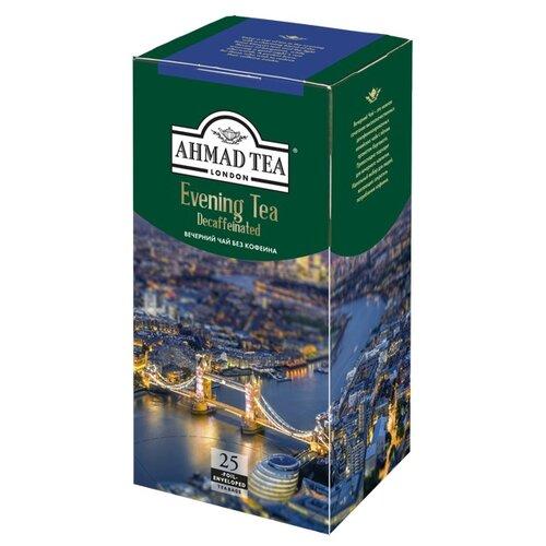 Чай черный Ahmad tea Evening tea без кофеина в пакетиках, 25 шт.