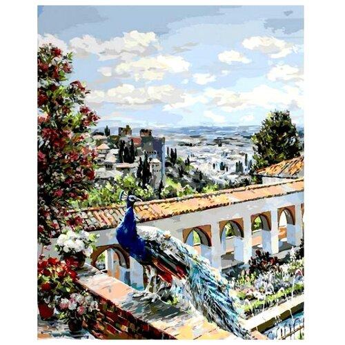 Белоснежка Картина по номерам Сады Гранады 40х50 см (952-AB-L)