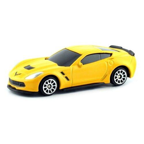 Легковой автомобиль RMZ City Chevrolet Corvette C7 (344033SM) 1:64 матовый желтый