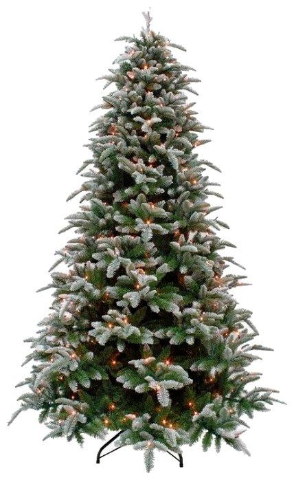 Triumph Tree Ель Нормандия Пушистая заснеженная (лампы)