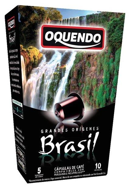 Кофе в капсулах Oquendo Brazil (10 шт.)
