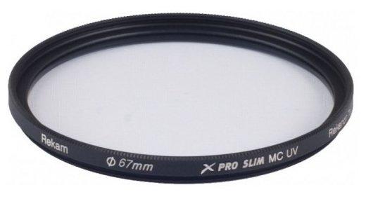 Светофильтр ультрафиолетовый Rekam X Pro Slim UV MC 67 мм