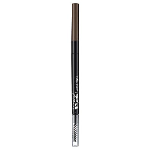 Maybelline карандаш Brow Precise Micro Pencil, оттенок 4, Темно-коричневыйКарандаши для бровей<br>
