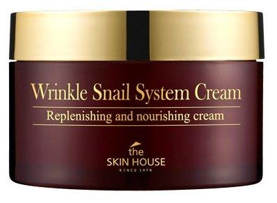 Крем на основе муцина улитки The Skin House Wrinkle Snail System Cream, 100мл