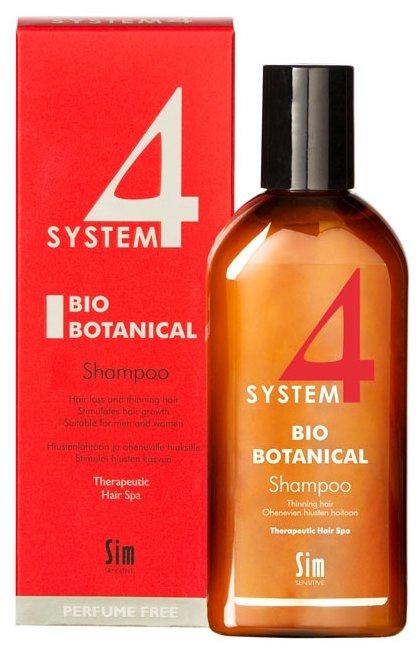 Sim Sensitive SYSTEM 4 Bio Botanical Shampoo Био Ботанический Шампунь для лечения выпадения волос и восстановление роста волос