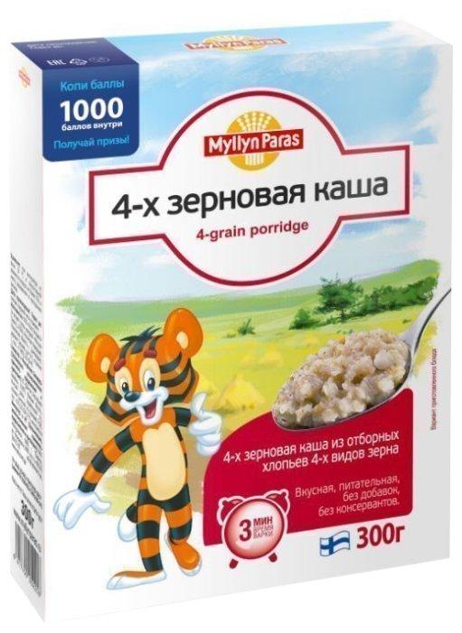 Myllyn Paras Тигренок Каша 4-х зерновая, 300 г