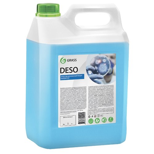 GraSS Средство для чистки и дезинфекции Deso 5 кг средство для чистки и дезинфекции deso 5 кг grass 125191