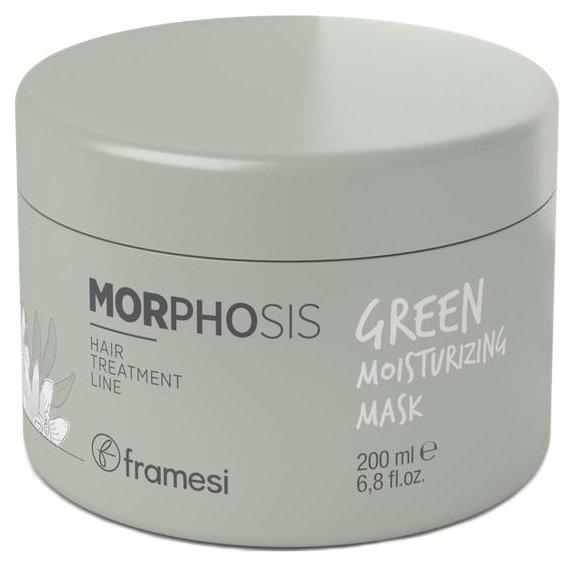 Framesi Morphosis Green Натуральная увлажняющая маска для волос