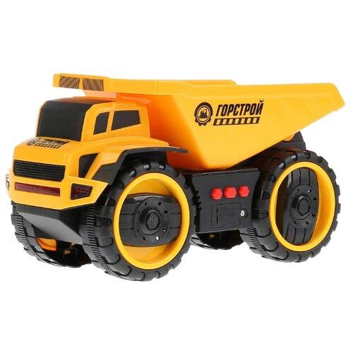 Купить Грузовик ТЕХНОПАРК A6677-1R 22 см желтый, Машинки и техника