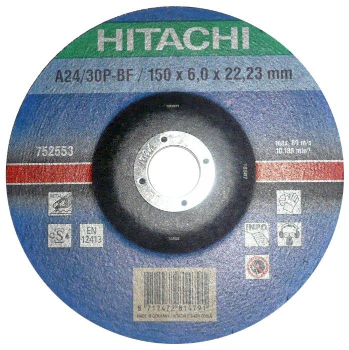 Шлифовальный абразивный диск Hitachi 752553