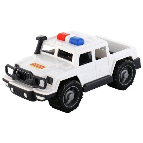 Купить Внедорожник Полесье Защитник патрульный (63588) в сетке белый, Машинки и техника