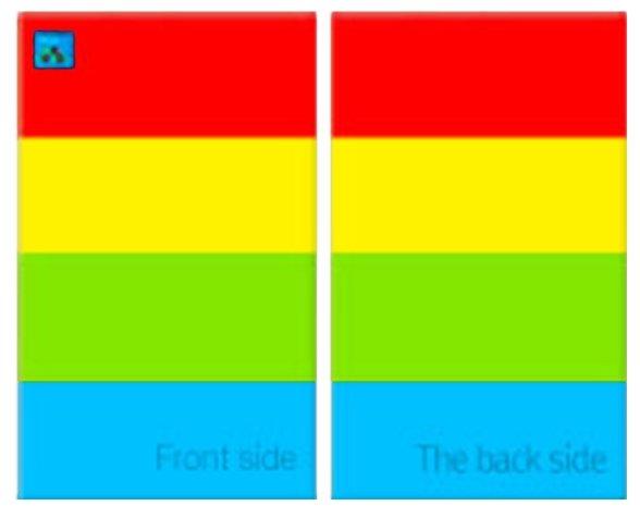 Коврик Alzipmat Color Folder S (CF-200S)