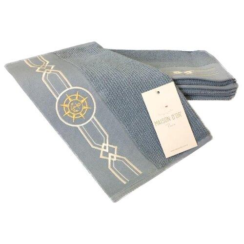 Maison D or Полотенце Eleganze для лица 50х100 см голубой