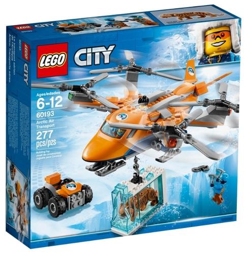 Конструктор lego city 60193 арктический вертолёт