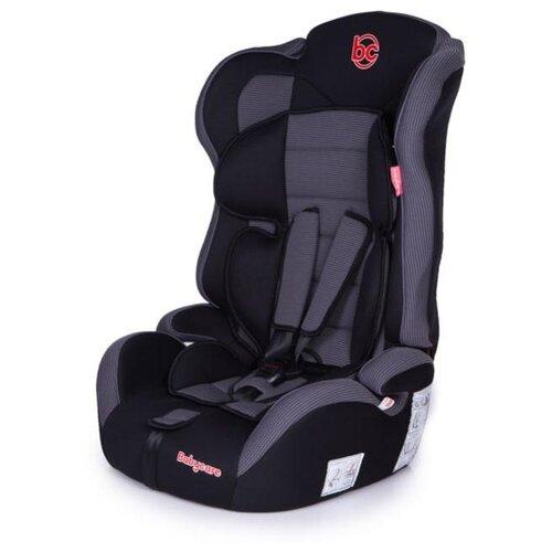 Автокресло группа 1/2/3 (9-36 кг) Baby Care Upiter Plus, черный/серый автокресло группа 1 2 3 9 36 кг little car ally с перфорацией черный