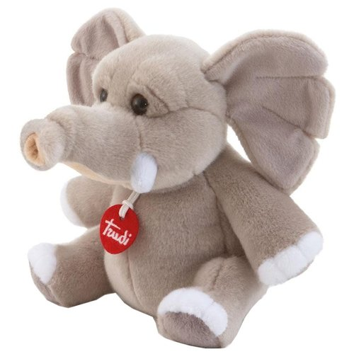 Купить Мягкая игрушка Trudi Слон Элио 19 см, Мягкие игрушки