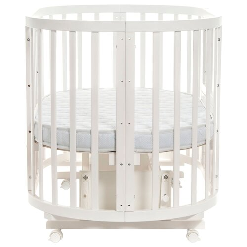 Кроватка Noony Cozy (трансформер) белый манежи noony babyland