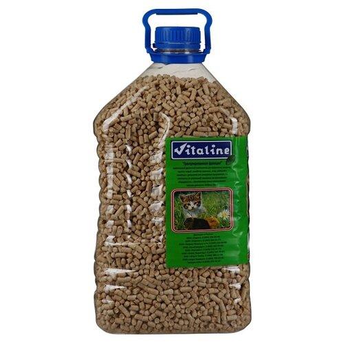Впитывающий наполнитель Vitaline Древесный гранулированный Пэт бутылка 3 кг