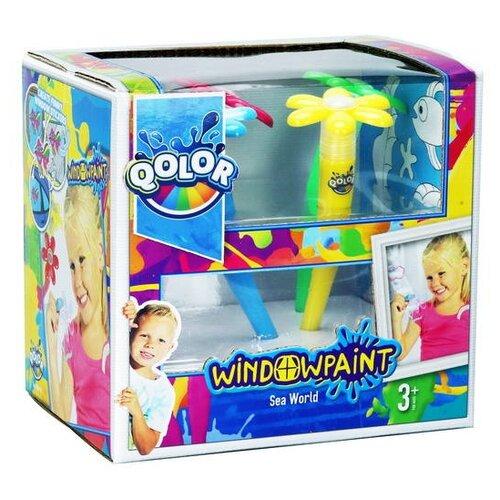 Купить Five Stars Набор QOLOR Window paint (361-17), Наборы для рисования