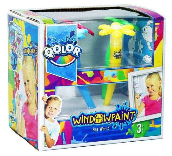Five Stars Набор QOLOR Window paint (361-17)