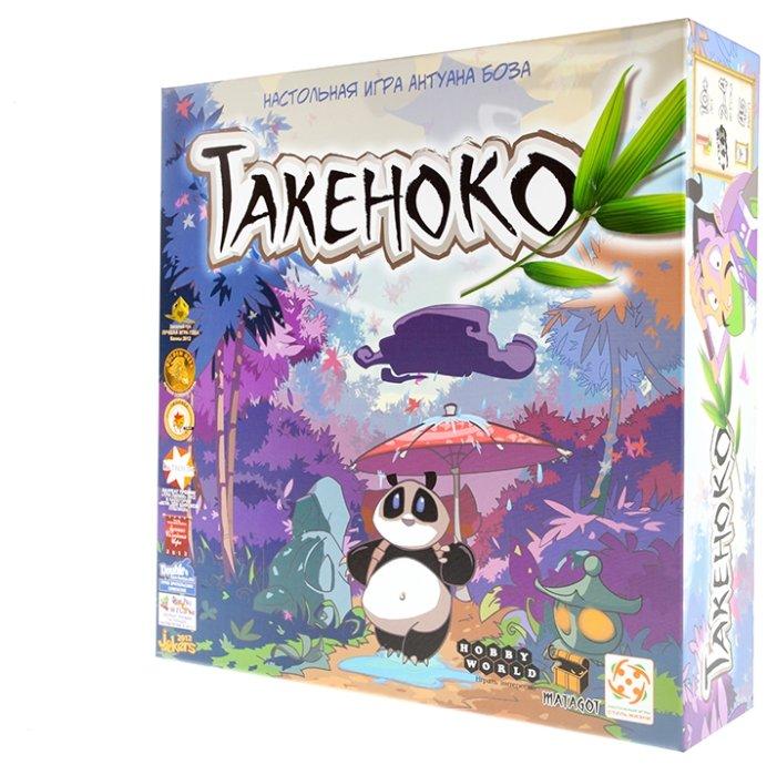 """Настольная игра """"Такеноко: Крошка-панда (Takenoko: Chibis, дополнение)"""""""