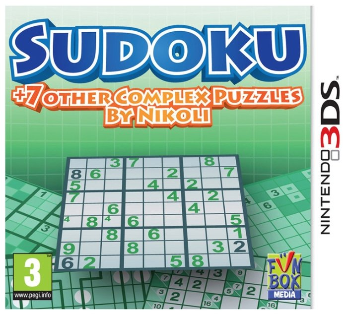 Funbox Sudoku + 7 other Complex Puzzles by Nikoli