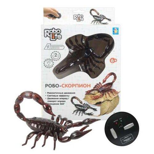 Купить Робот 1 TOY Робо-скорпион коричневый, Роботы и трансформеры