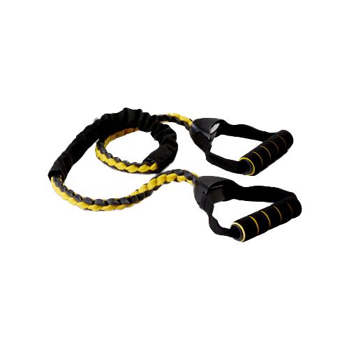 Эспандер универсальный SPIRIT E-04 160 см черный/желтый