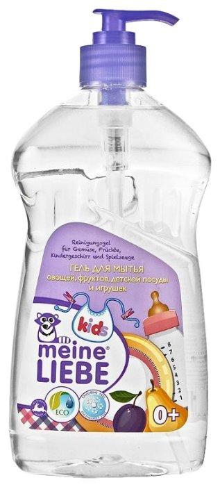 Гель для мытья детской посуды Ушастый Нянь с ромашкой и алоэ 500мл