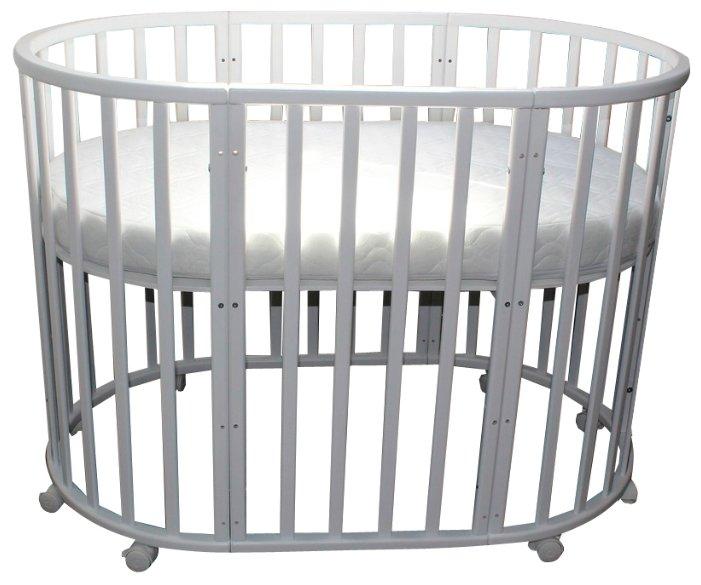 Кроватка JAKOMO Liva Plus 9 в 1 (трансофрмер)