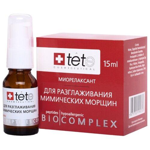 Купить TETe Cosmeceutical Biocomplex Anti-Mimic Stop Биокомплекс-миорелаксант для лица, для разглаживания мимических морщин, 15 мл