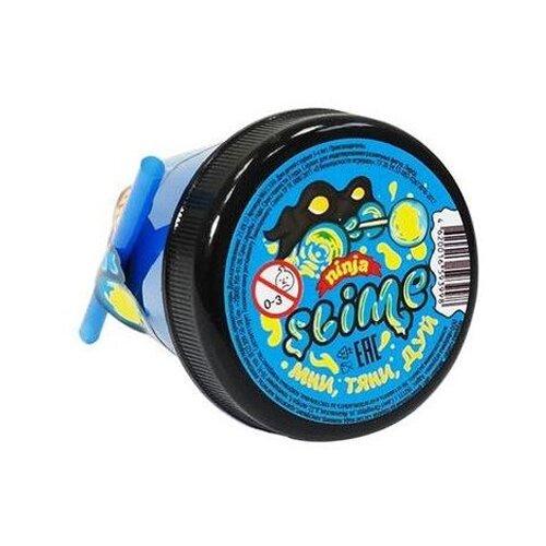 Купить Лизун SLIME Ninja 2 в 1 смешивай цвета, синий и желтый, 130 г (S130-1), Игрушки-антистресс