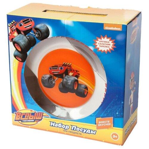 Столовый сервиз ND Play Вспыш и чудо-машинки Вспыш - Трек mattel mattel детский автотрек вспыш и чудо машинки прыжок через пылающий вулкан