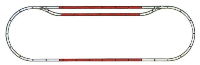 Mehano Набор рельс №3 F103