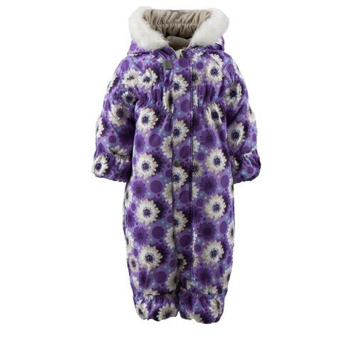 Купить Комбинезон KERRY ROSIE K18407 размер 80, 3610 фиолетовый/сиреневый/бежевый, Теплые комбинезоны