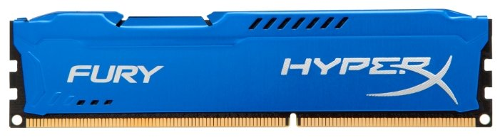 Оперативная память Kingston DDR3 4Gb pc-15000 HyperX Fury Blue HX318C10F/4