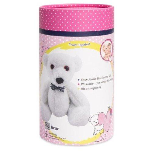 Купить D&M Шьем игрушку Мишка в подарочной упаковке (67611) белый, Изготовление кукол и игрушек