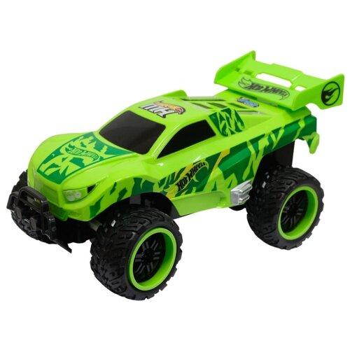 Купить Внедорожник Hot Wheels Т10981 30 см зеленый, Радиоуправляемые игрушки