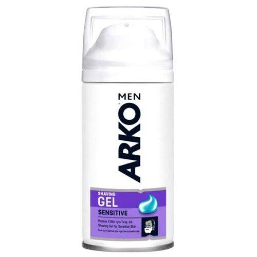Гель для бритья Sensitive Arko, 75 млСредства для бритья<br>