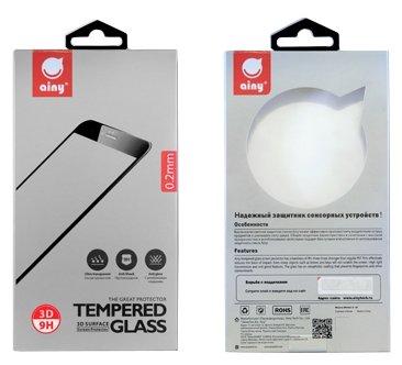 Защитное стекло Ainy Full Screen Cover AF-A612A/B для Apple iPhone 7 с силиконовыми краями