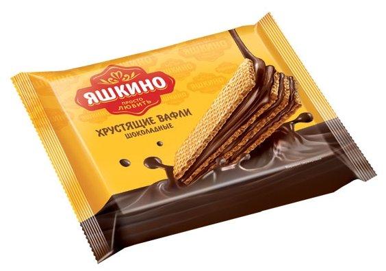 Вафли Яшкино Шоколадные 70 г