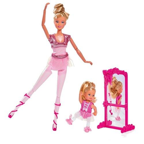 Набор кукол Steffi Love Школа балета Штеффи и Еви, 29 см, 5733038