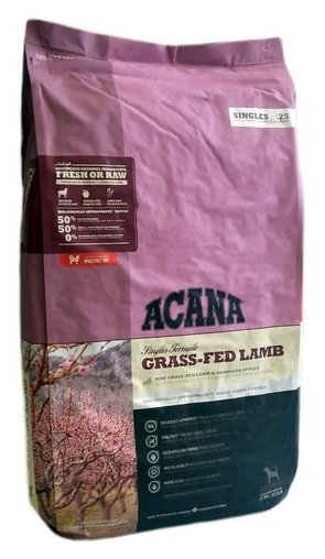 Корм для собак Acana Singles Grass-Fed Lamb