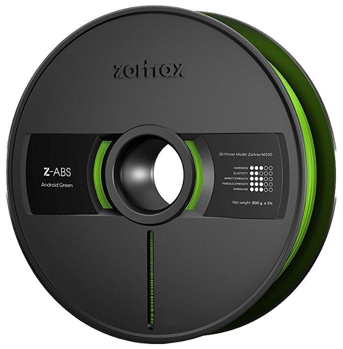 Z-ABS пруток Zortrax 1.75 мм зеленый (android green)