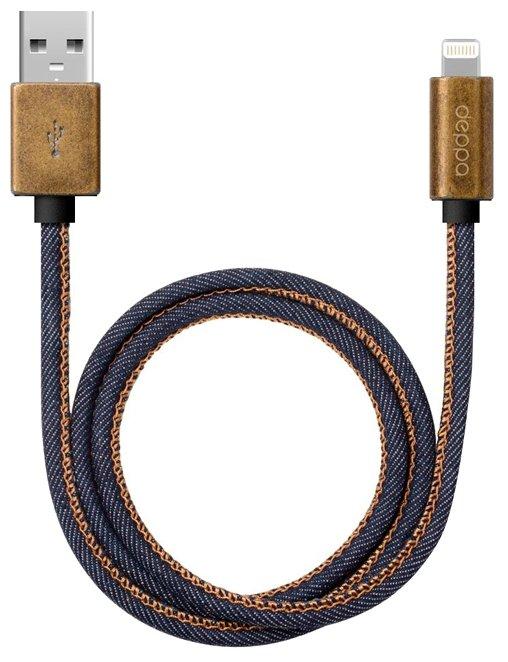 Кабель Deppa Jeans USB - Apple Lightning (72275) 1.2 м