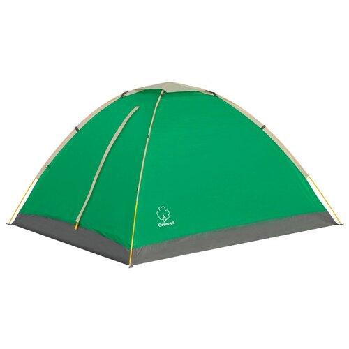 Палатка Greenell Моби 3 V2 зеленый/светло-серый