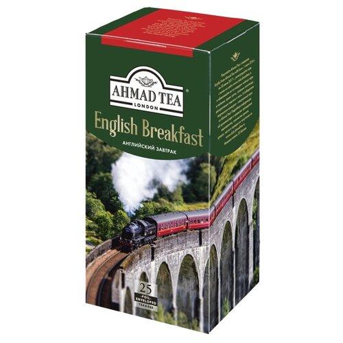 Чай черный Ahmad tea English breakfast в пакетиках, 25 шт.