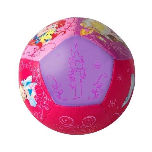 Мяч ЯиГрушка Принцессы, 12.5 см, розовый