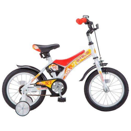 Фото - Детский велосипед STELS Jet 14 Z010 (2018) белый/красный 8.5 (требует финальной сборки) городской велосипед stels navigator 300 lady 28 z010 2018 фиолетовый 20 требует финальной сборки